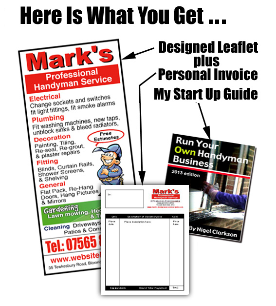 Run Your Own Handyman Business Start Up Package From