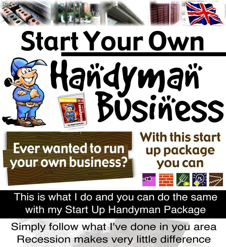 Home Start Your Own Business Handyman
